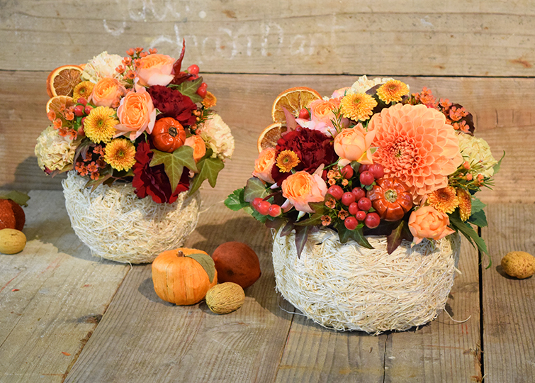 Autumn Orange Arrange